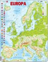 Larsen puzzel - Europa natuurkundig - K70