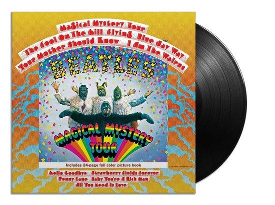 CD cover van Magical Mystery Tour (LP) van The Beatles