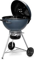 Weber GBS C-5750 Barbecue Kolen Verrijdbaar Blauw, Grijs, Roestvrijstaal