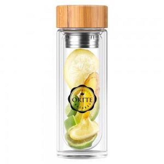 Tea Infuser Bottle - Örtte - Theefles met Filter - Gezondere Levensstijl - Weight World