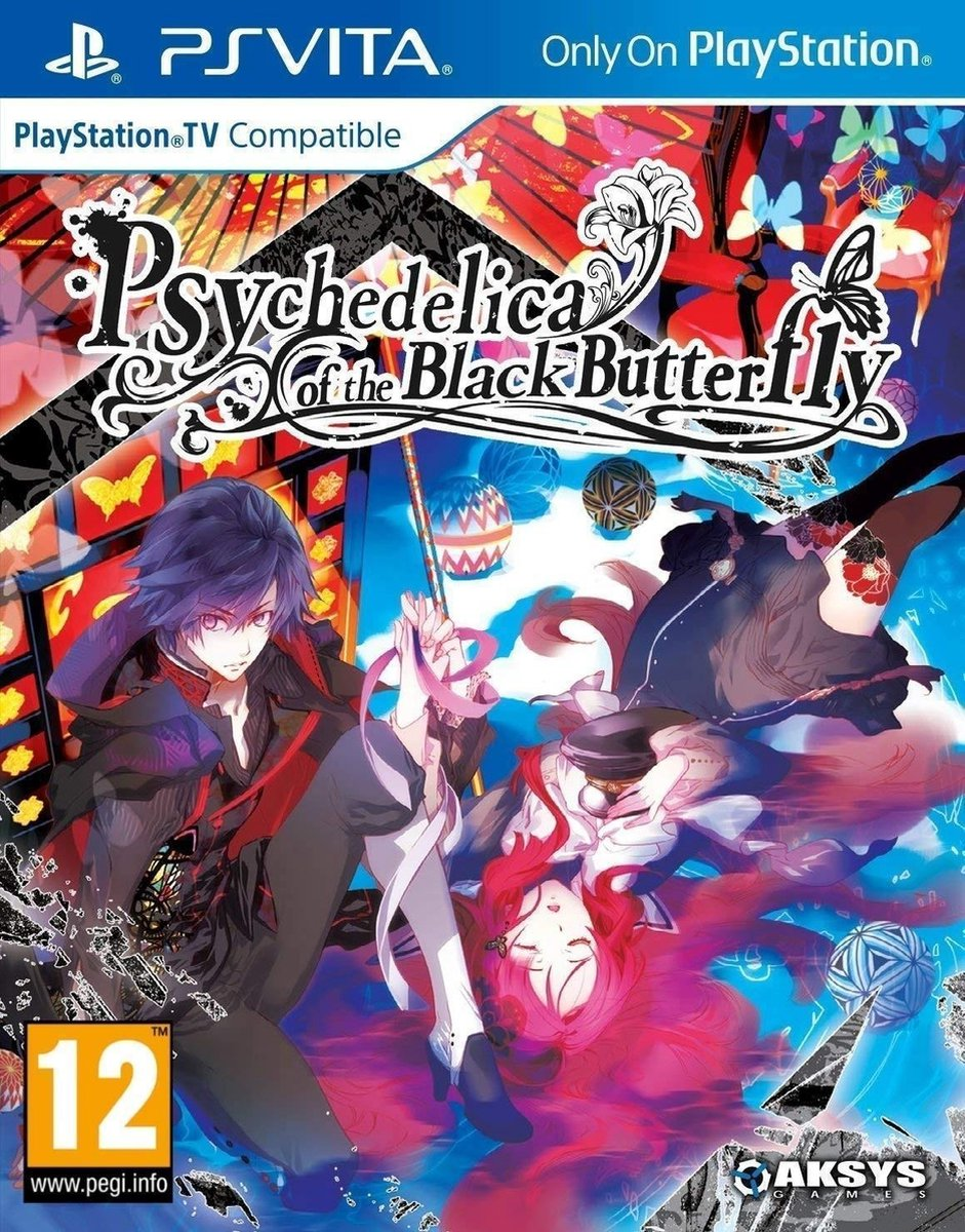 Psychedelica of the Black Butterfly (DELETED TITLE) /Vita - Aksys Games
