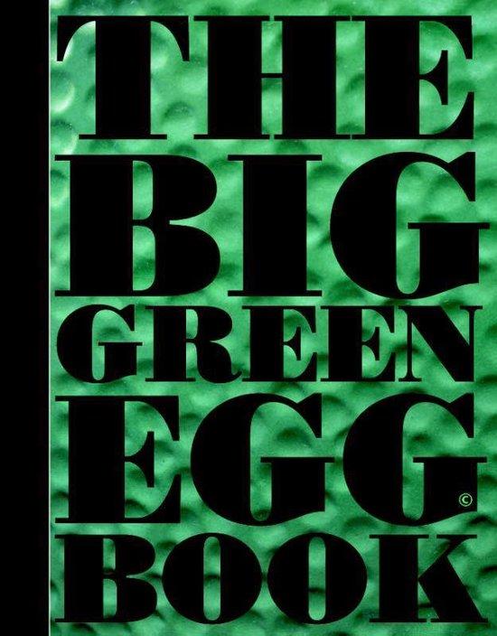 Boek cover The big green egg book van Dirk Koppens