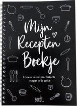 Zoedt receptenboek – invulboek – A5-formaat - zwart / wit