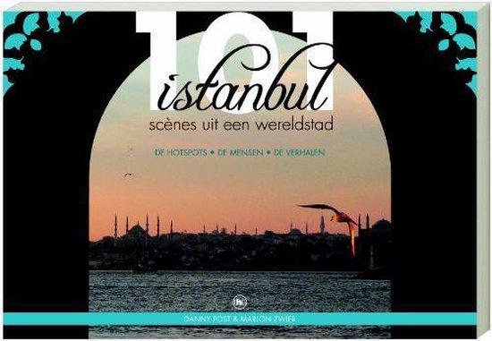 Cover van het boek '101 Istanbul' van M. Zwier en D. Post