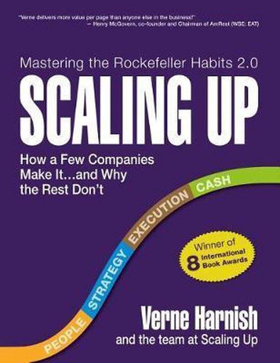 Boek cover Scaling Up van Harnish Verne (Paperback)