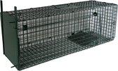 MaxxGarden Vangkooi voor dieren van 80x25x30cm - rattenval - dubbele ingang - opvouwbaar