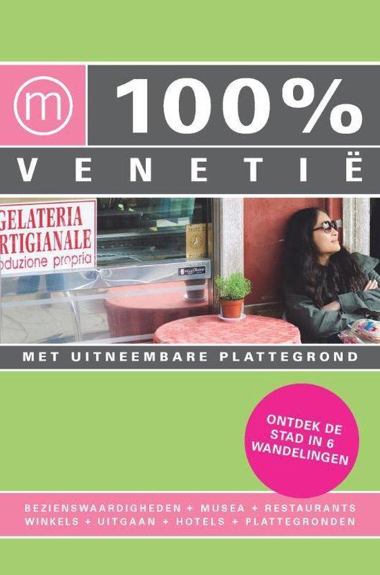 Cover van het boek '100% Venetie' van K. Groneveld