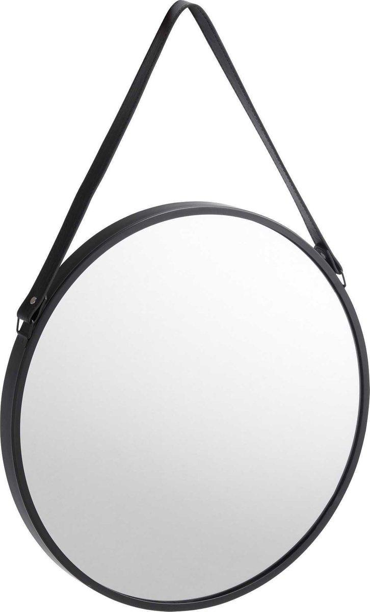 Spiksplinternieuw bol.com | Ronde spiegel met zwarte omlijsting - Industrieel en YB-04