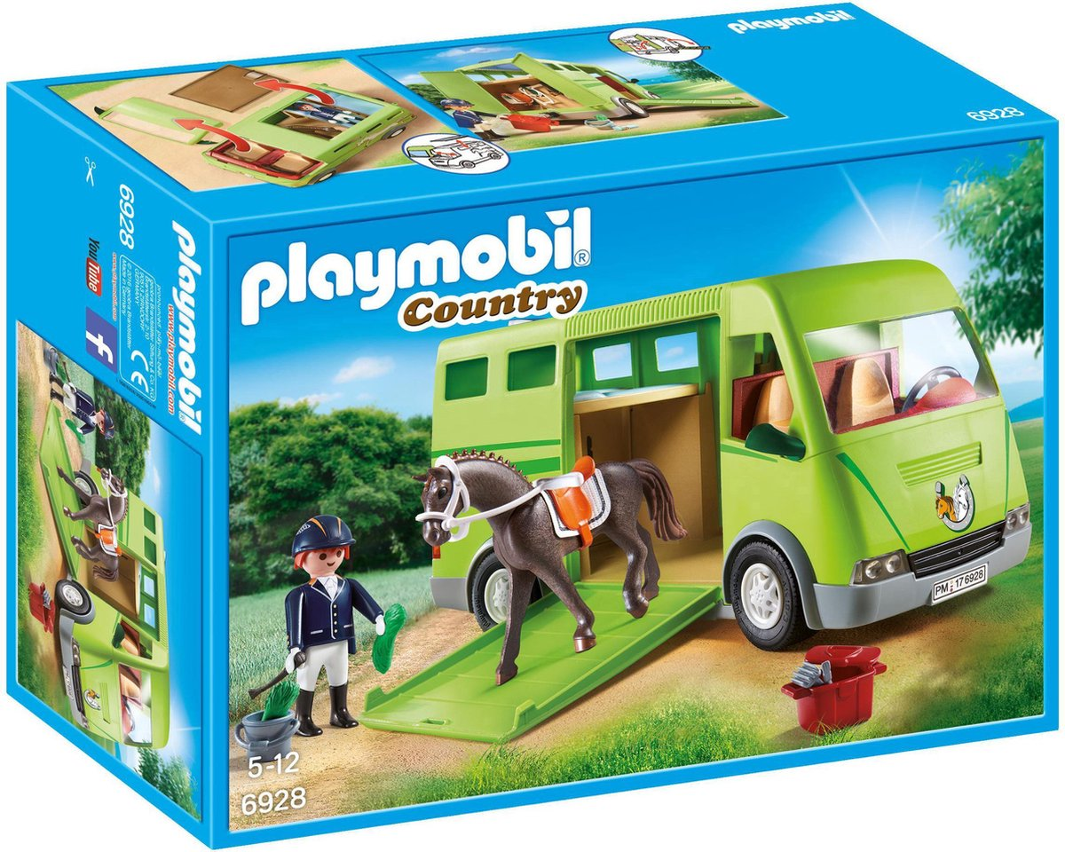 PLAYMOBIL Country Paardenvrachtwagen - 6928