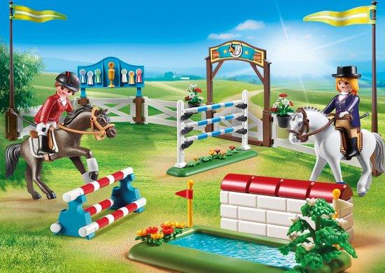 Afbeelding van PLAYMOBIL Country 6930 Paardenwedstrijd from