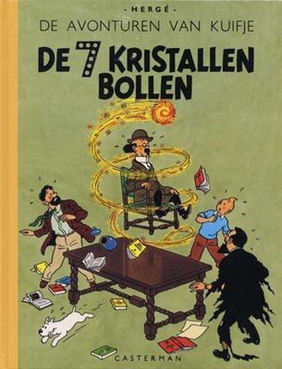 Kuifje A5 / Hc13. De Zeven Kristallen Bollen (A5 Formaat) - Hergé  