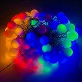 Partyverlichting met gekleurde LED lampjes - Multi color - 12 meter - voor binnen & buiten