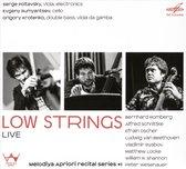 Various - Low Strings / Live
