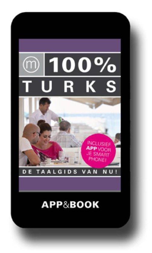 Cover van het boek '100% TURKS' van  Nvt