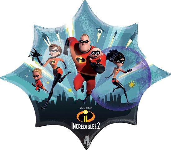 The Incredibles Helium Ballon XL 88x73cm leeg