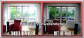 Budget Zonwerende Folie - 75x300 cm - Zwart