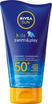 Nivea - UV-zonnemelk voor kinderen - Sun child swim & play SPF50+ - maat 150ml