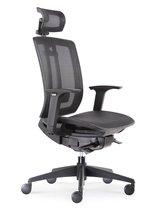 BenS 816DH-Synchro-4 Lux bureaustoel - Zwart