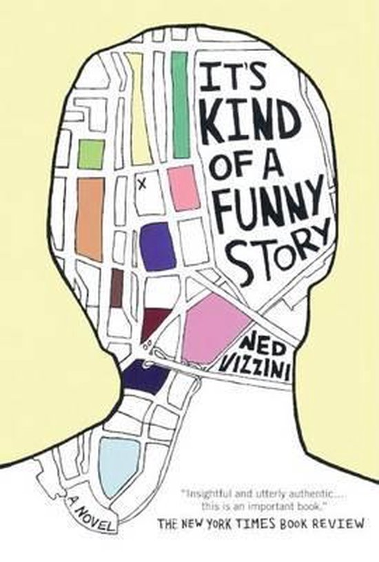 Boek cover Its Kind of a Funny Story van Ned Vizzini (Hardcover)
