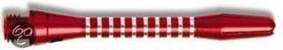 Harrows Tiger shaft short rood 3 stuks