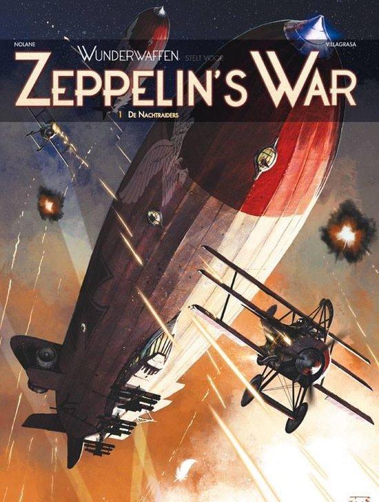 Wunderwaffen: zeppelin's war hc01. de nachtraiders - Vicenç Villagrasa |