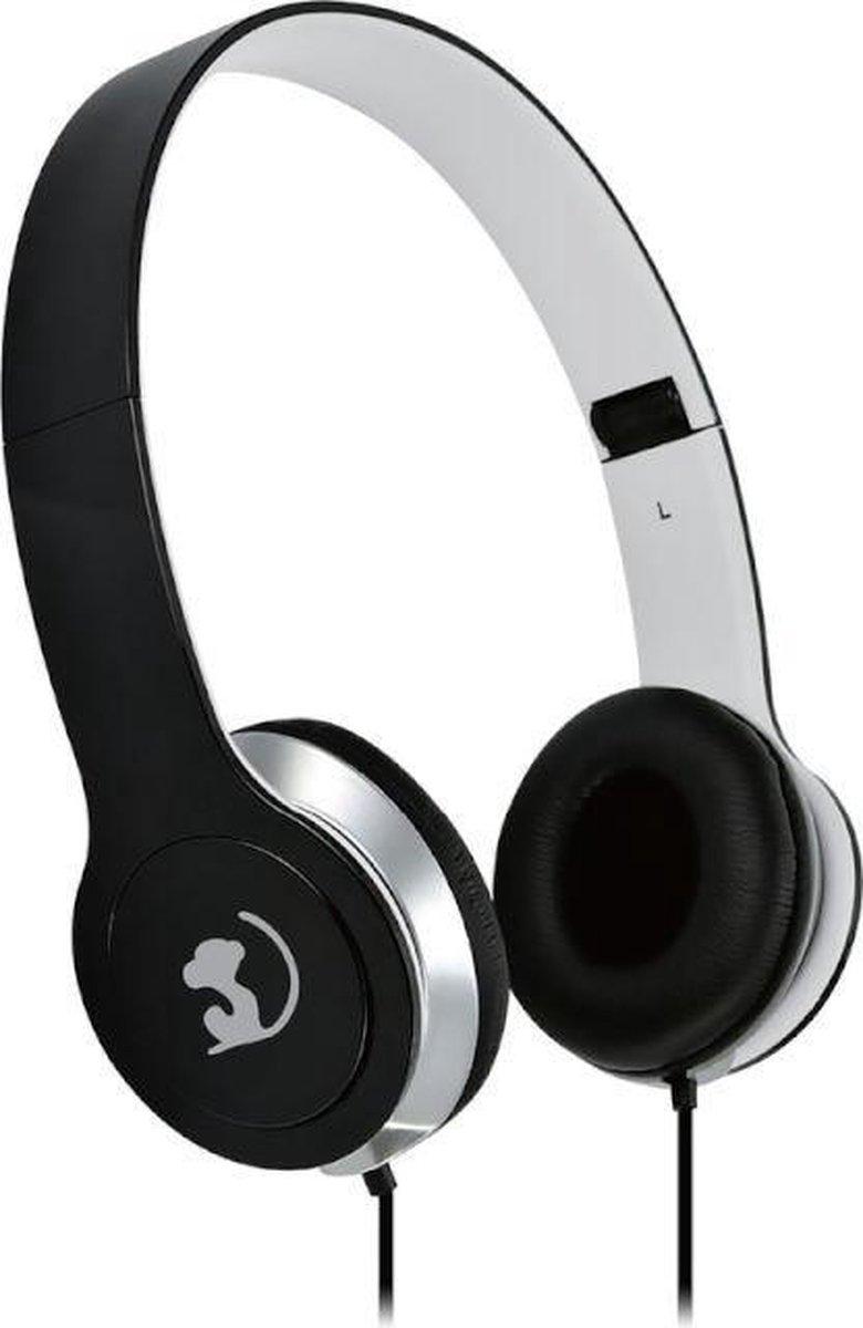Wonky Monkey – Headset – Koptelefoon – On ear – Over ear – Opvouwbaar – Foldable – Zwart