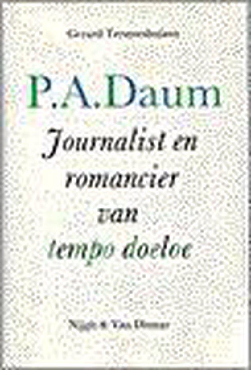 Pa daum journalist en romancier