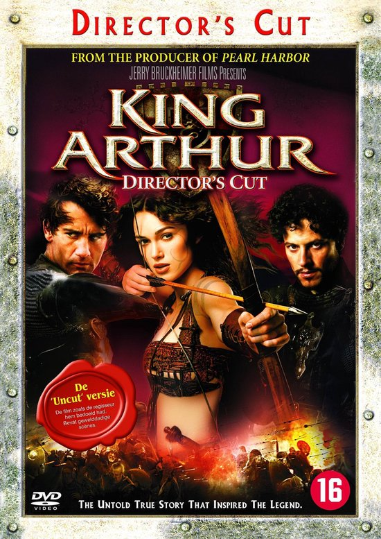 Cover van de film 'King Arthur - Extended Unrated Version'