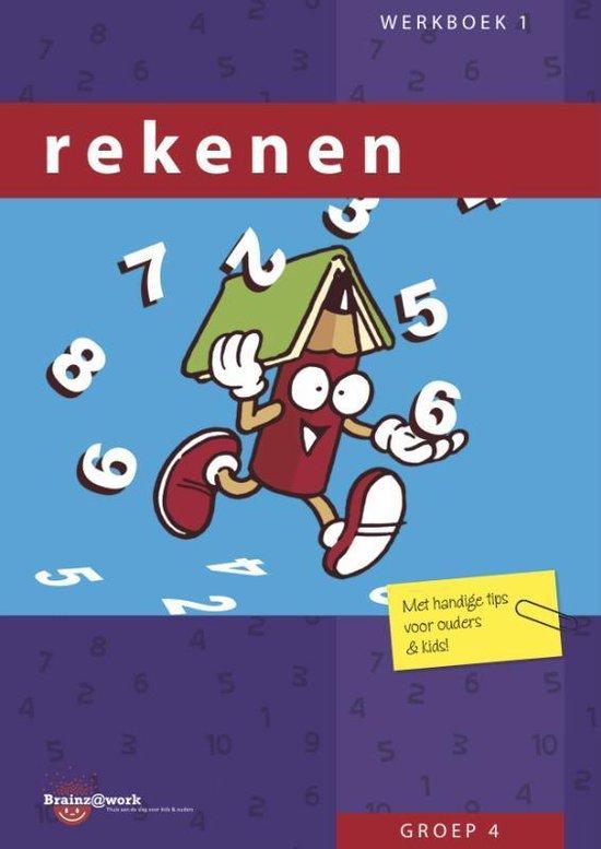 Brainz@work - Rekenen Groep 4 Werkboek 1 - Inge van Dreumel |