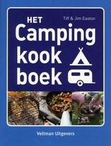 Boek cover Het campingkookboek van Tiff Easton