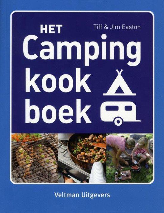 Boek cover Het campingkookboek van Tiff Easton (Paperback)