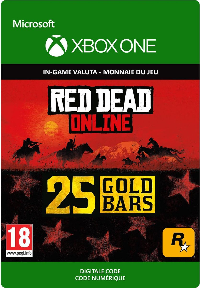 Red Dead Redemption 2: 25 Gold Bars - Xbox One Download