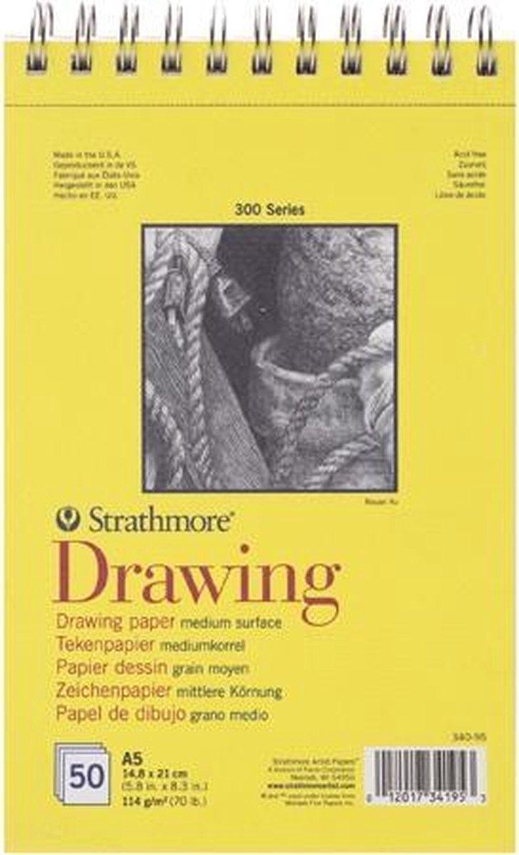 Strathmore 300 series teken papier - wit - Rubies