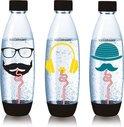 SodaStream herbruikbare Fuse flessen -  Tripack - Hipster