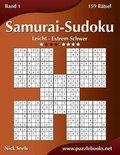 Samurai-Sudoku - Leicht Bis Extrem Schwer - Band 1 - 159 R tsel