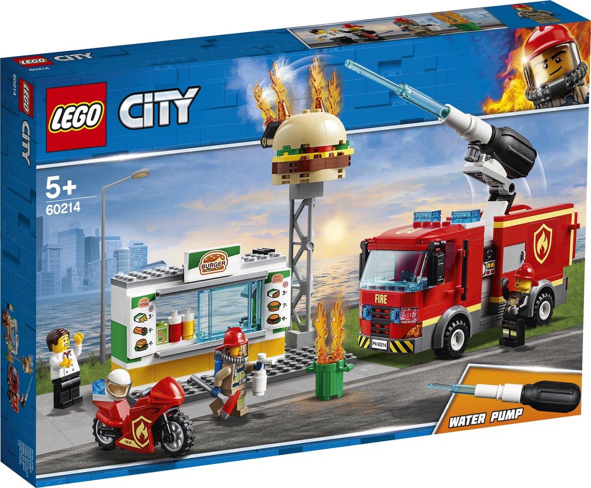 LEGO City Brand bij het Hamburgerrestaurant - 60214