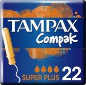 Tampax Compak Super Plus - 22 stuks- Tampons
