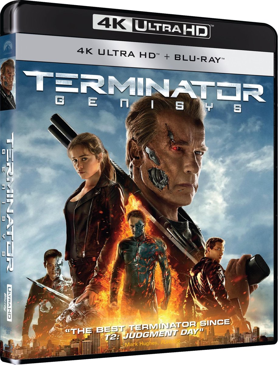 Terminator 5: Genisys (4K Ultra HD Blu-ray)-