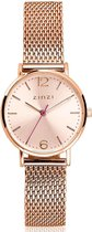 ZINZI ZIW605M Lady horloge - 28mm + gratis Zinzi armbandje