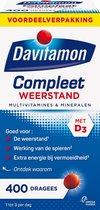 Davitamon Compleet Weerstand Met Vitamine D3 Voedingssupplement - 400 dragees
