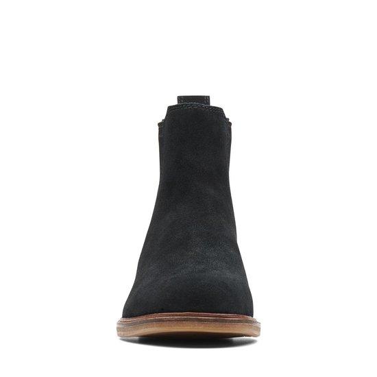 Clarks Clarkdale Arlo Dames Chelsea Boot - Black Suede - Maat 38 O0WsKEDu