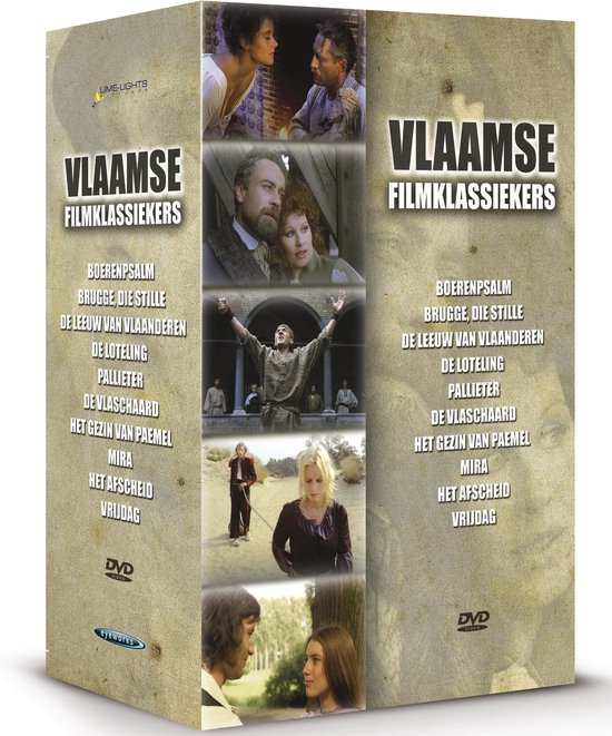 Cover van de film 'Vlaamse Klassiekers Box 1'