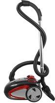 Sauber V70 - Stofzuiger met zak - Rood   Zwart