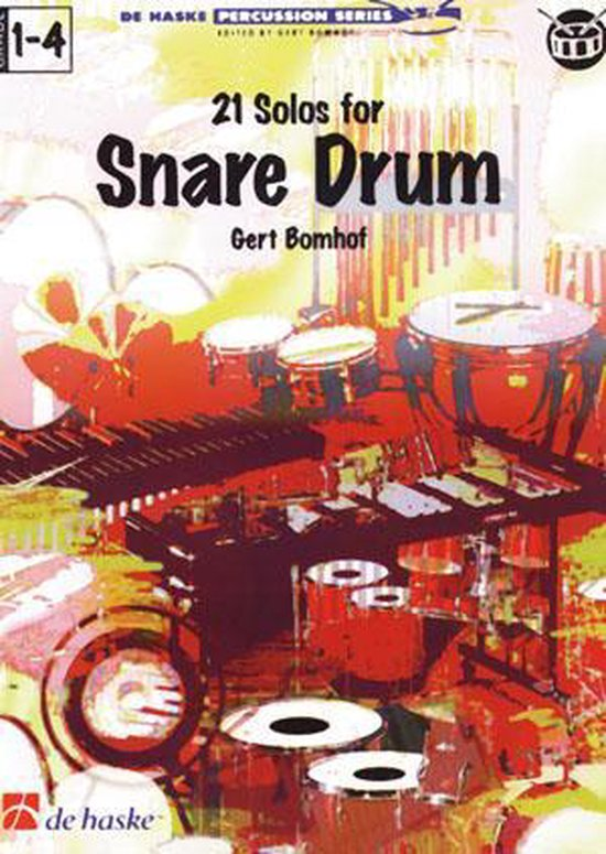 21 Solo's for snare drum - G. Bomhof | Readingchampions.org.uk
