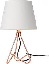 Lucide GITTA Tafellamp - Ø 17 cm - 1xE14 - Koper