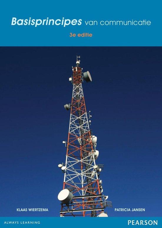 Basisprincipes van communicatie - Klaas Wiertzema |