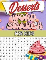 Desserts Word Search for Kids