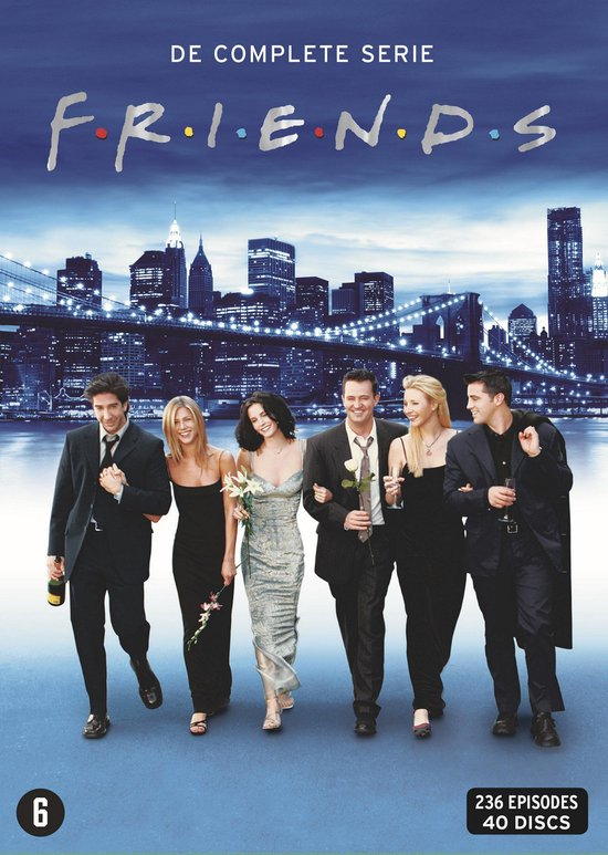 Friends - De Complete Serie (40DVD)Onbekend