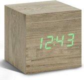 Cube Click Clock wekker ash