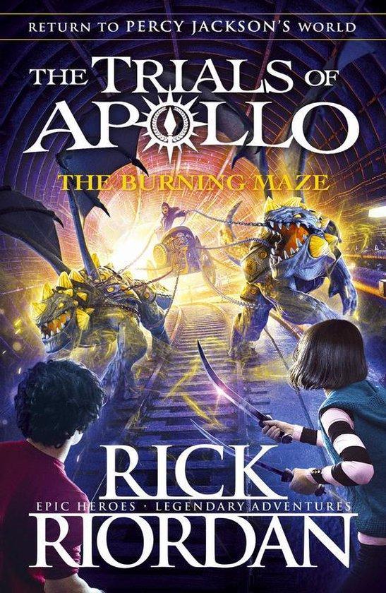 Boek cover The Burning Maze (The Trials of Apollo Book 3) van Rick Riordan (Paperback)